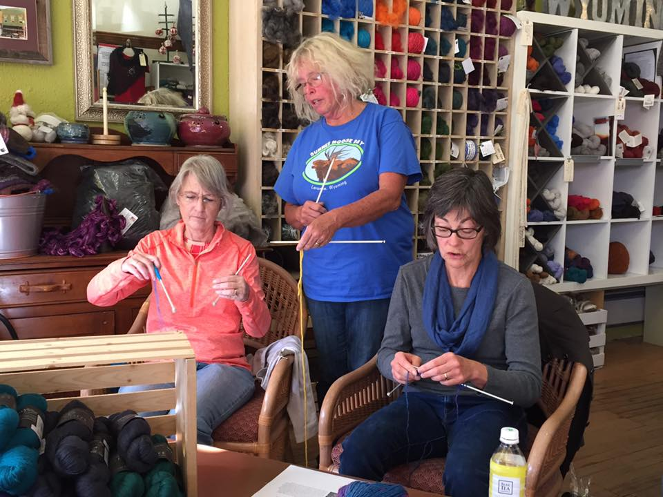 Knitting for Children of Peace International